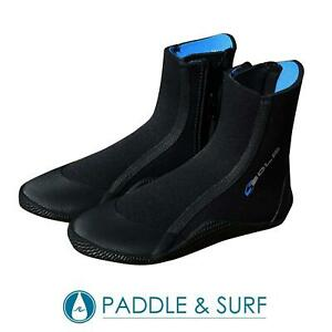 Sola 5mm Zip Wetsuit Boots Adults and Children Surf Swim Footwear