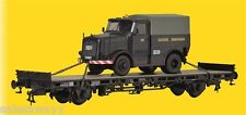 26270 Kibri H0 Low-sided Wagon With Kaelble Tractor DC