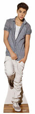 Justin Bieber Cutout Checked Shirt  Cardboard Life Size Standup Poster