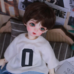 New Dress clothes Hair Wig shoes For 1/6 BJD Doll Yuyi A