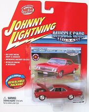 JOHNNY LIGHTNING MUSCLE CARS 1967 CHEVY CHEVELLE MALIBU #35