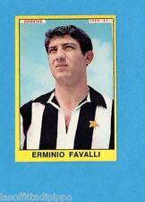 PANINI CALCIATORI 1966/67-Figurina - FAVALLI - JUVENTUS -Recuperata