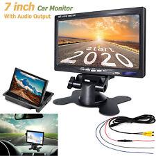 "7"" TFT LCD Digital Color Screen Monitor Car Rear View Backup Reverse Camera DVD"