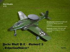 Schulz Kegelrakete 1945     1//72 Bird Models Resinbausatz resin kit Dr