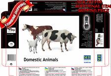 Master Box 3566 Domestic Animals Milk Cow Ewe plastic model kit 1/35