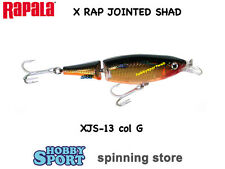 RAPALA X-RAP JOINTED SHAD - XJS-13 col. G GOLD  - 46gr 13cm