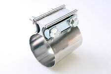 Autobahn88 Stainless Flat Band Muffler Clamp For 3 inch Car Exhaust system join