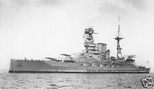ROYAL NAVY QUEEN ELIZABETH CLASS BATTLESHIP HMS BARHAM
