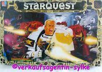 STARQUEST - Der Entscheidene Kampf, Kult Spiel von MB mit 50 Figuren, komplett