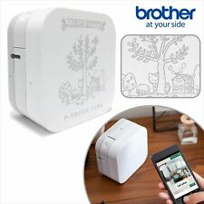 Hello Kitty Brother P Touch Cube Label Printer Sanrio Bluetooth