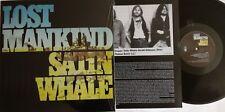 LP SATIN WHALE LOST MANKIND (RE) Long Hair Music lhc195 - STILL SEALED