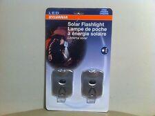 New for Sales -  Sylvania 2 PK Solar Powered LED Flashlight