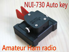UNI-730A Morse Code cw HF radio straight key paddle key  Morse Code Keyer