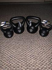 Set of 2 10Lbs & 5Lbs Kettlebells Pro strength