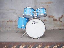 Rogers Vintage Schlagzeug in der Farbe Pacific Blue