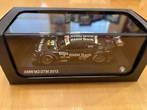 1:43 Minichamps BMW M3 2012 DTM Winner #7 Bruno Spengler, Team Schnitzer