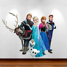 Disney Frozen - Multi Colour Wall Art Sticker Bedroom Decal Mural Graphic Print