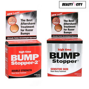 High Time Bump Stopper Treatment 0.5 oz (Choose from 2 Strength) Double/Senstive