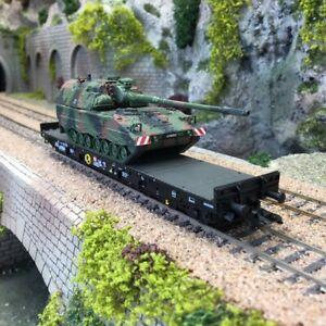 Wagon porte char Samms 709 DB Ep VI -HO 1/87-MARKLIN 48873