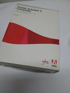 Adobe Acrobat 9 Standard for Windows