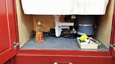 CleanUp Stuff Under Sink Mat, Absorbent Cut to Fit Cabinet Liner