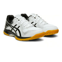 Asics Womens Gel-Rocket 9 Indoor Court Shoes Black White Sports Squash