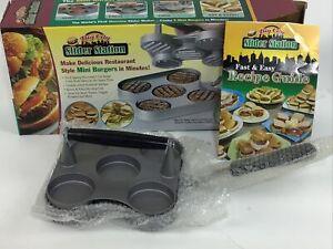 Big City Slider Station Slider Station Mini Burger As seen On TV