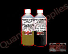 MOULDCRAFT A3000B 120g BLACK FAST CAST Polyurethane Liquid Plastic casting Resin