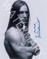 JOE DALLESANDRO SIGNED 10X8 PHOTO, GREAT B&W STUDIO IMAGE, LOOKS AWESOME FRAMED