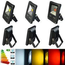 LED Floodlight 10W 20W 30W 50W 70W RGB Security Flood Light Wall Tree Decor UK