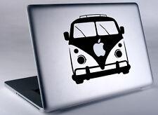 VW Bus Hippie Volkswagen Apple Macbook Laptop Air Pro Vinyl Decal Sticker Skin