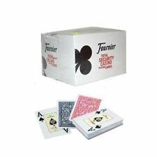Fournier No.2818 2 große Eckzeichen Spielkarten Casino Poker  Pokerkarten