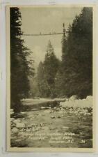 1c Copilano Suspension Bridge Postcard 927