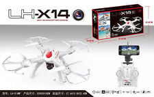 LH-X14WF (BLACK) 2.4G 6Axis GYRO RC Quadcopter WIFI Smartphone APP w/HD Camera