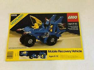 LEGO Classic Space 6926 Mobile Recovery Vintage Outer BOX -only