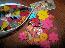 20 pcs Unusual  Mixed  Stamps Wood Scrapbooking ////  Sewing Buttons 40mm x 27mm