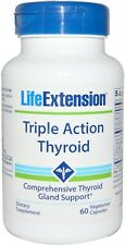 Triple Action Thyroid, Life Extension, 60 capsule 1 pack