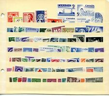 LOT 66426 CANADA  MINT NH CANADIAN STAMP  COLLECTION FROM THE 1950'S