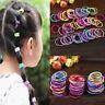 100X DIY Lovely Kids Girl Elastic Tiny Hair Tie Band Rope Ring Ponytail Holder T