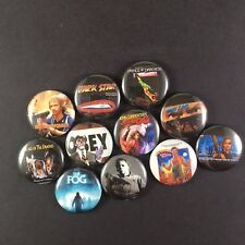 "John Carpenter "" Button Pin Lot Set #1 Halloween The Thing The Fog They Live"