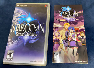 Star Ocean: Second Evolution (Sony PSP, 2009) *ARTWORK & MANUAL Only* - NO GAME!