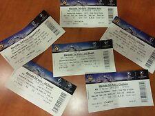 3 Rare Maccabi Tel Aviv Vs Chelsea FC Basel Dynamo Kyiv Champions League Tickets