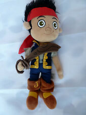 """12"""" DISNEY STORE JAKE AND THE NEVERLAND PIRATES - PIRATE SOFT TOY"""