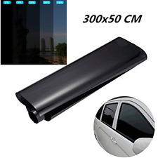 Window Tint Film 5% Extreme Dark Black 50 x 300cm Roll Glass for Car Home Office