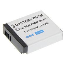 Batterie pour dmw-blh7e panasonic lumix dmc-gm1 gm1k Accu Batterie Batterie de rechange Li-Ion