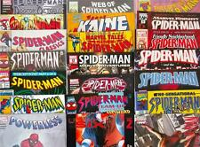 6 x SPIDER-MAN MARVEL COMICS - 1980's to CURRENT - ALL DIFFERENT / ALL BAGGED