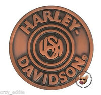 HARLEY DAVIDSON USA ANTIQUE BRONZE PIN