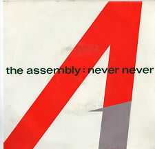 """The Assembly - Never Never 7"""" Single 1983"""