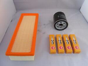 MGZR MG ZR 1.4 Petrol Service Kit Oil Air Filter Spark Plugs 2001 Onwards