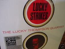 LUCKY THOMPSON LUCKY STRIKES 1985 FANTASY/PRESTIGE RECORDS LIMITED STICKER LP